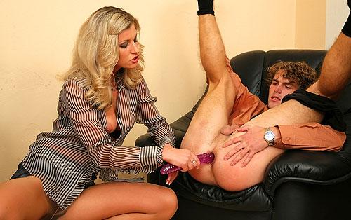 Pantyhose Strapon Mistress